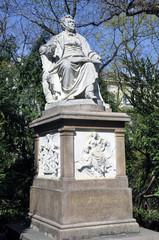 Franz Schubert Denkmal, Wien