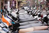 Hanoi Vietnam  Hauptstadt der Motorräder