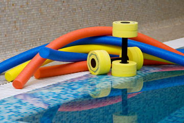 water aerobics equipment