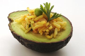 Antipasto di avocado