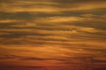 Last Light, a colorful sky after sunset