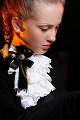 fashion and modern young woman