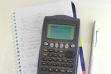 training for mathematics exam with graphics calculator