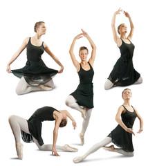 ballerina  performing a dance