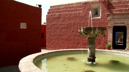 Brunnen, Kloster Santa Catalina, Peru