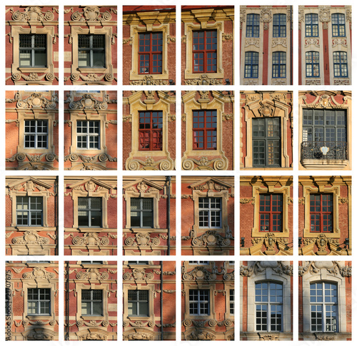 La ville de lille et son architecture flamande photo for Architecture flamande