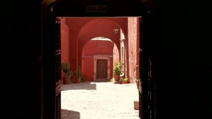 Gasse, Kloster Santa Catalina, Arequipa, Peru