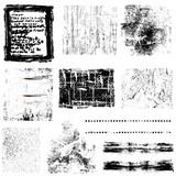 Grunge rámy a ďalšie objekty vektorové