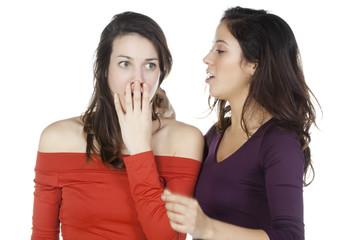 deux jeune femme annonce négatif