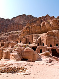 Tombs in Petra, Jordan