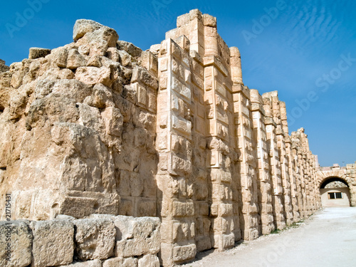 South Gate in Jerash, Jordan