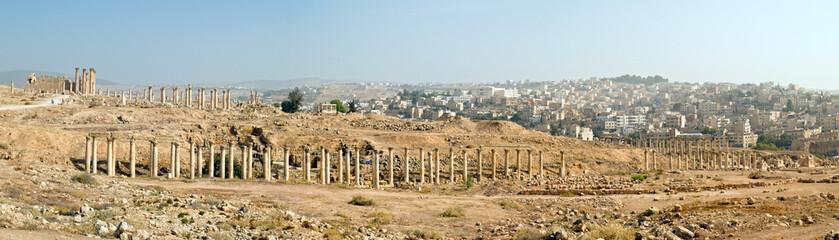 Decumanus in Jerash, Jordan