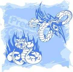 Snake and Python..