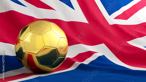 poster of football great britain