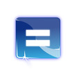 Picto egal - Icon equal