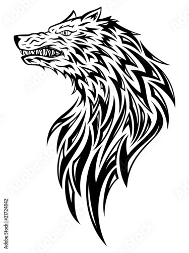 wolf head tattoo. Wolf Head Tattoo