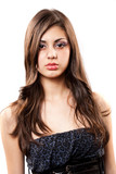 Beautiful latino girl poster