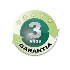 GARANTIA 3 AÑOS