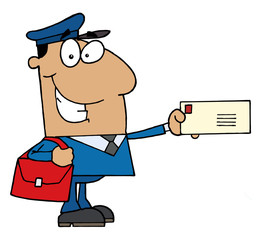 Hispanic Postal Worker