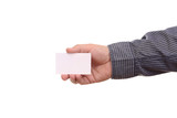 Blank businesscard