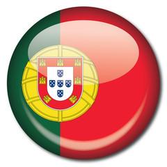 Chapa bandera Portugal