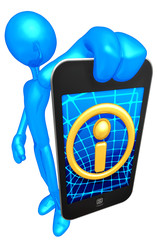 Touch Screen Mobile Device Info