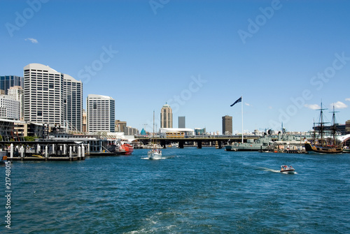 Darling Harbour Scene