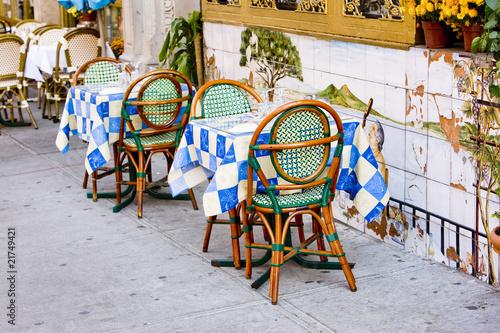 restaurant in Little Italy Quarter, Manhattan, New York, USA