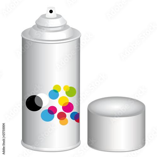 Bombe de peinture fichier vectoriel libre de droits sur - Bombe de peinture graffiti ...