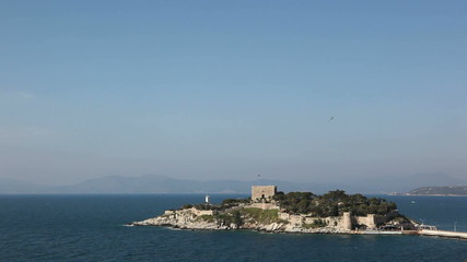 Pigeon Island in Turkey