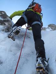 Ascension en montagne