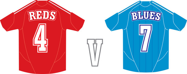 TEAM V TEAM RED V BLUE
