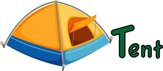 alphabet  T for tent