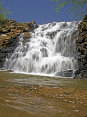 Waterfall at Chewacla State Park