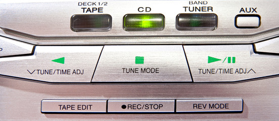 CD player controls
