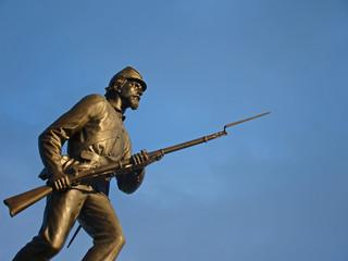 Champ de bataille de Gettysburg, en Pennsylvanie