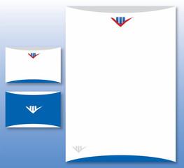 Charte Graphique Immobilier et Finance - Papier et Carte Visite
