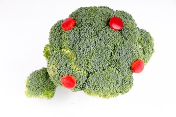 broccoli trees - growth and fruit