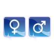 Pictos homme et femme - Icons boy girl
