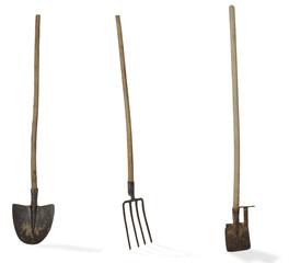 badile  forca vanga attrezzo orto giardino cantiere