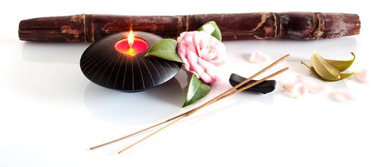Incenso e candela