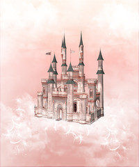 Rosa Wolkenschloß