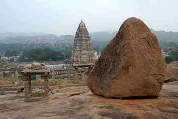 Rock and Temple Tower