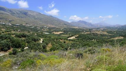 Landscape near Plakias on Crete