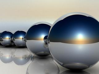 palle di metallo