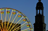Riesenrad vor dem Hamburger Michel - 21782612