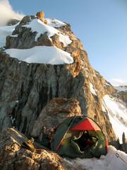 Mountains basecamp