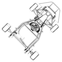 Carting Car Vector 04