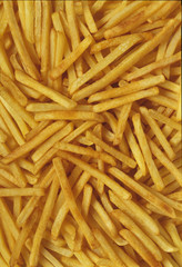 Shoestring French Fries (Full Frame)
