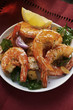 Barbecued shrimps
